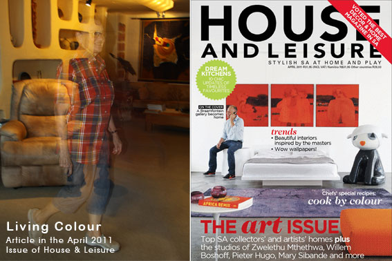 Beatrix Bosch as featured in a recent article in House & Leisure